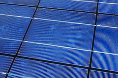 Solar Panel Detail Stock Photography