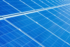 SOLAR PANEL. Detail abstract - renewable energy source Stock Image