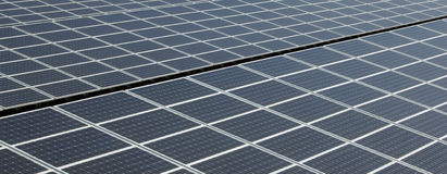 Solar Panel - Detail Stock Images