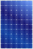 Solar panel. Detailed vector illustration of blue silicon photovoltaic electric solar panel texture royalty free illustration