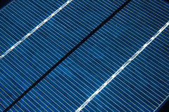 Solar panel details. Sun energy Royalty Free Stock Image