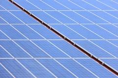 Solar panel diagonal Royalty Free Stock Images