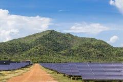Solar panel ecological  power Stock Photos