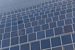 Solar Panel Field Royalty Free Stock Photography