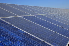 Solar panel. Royalty Free Stock Photography