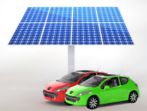 Free Solar Panel For Cars Stock Photo - 28899300