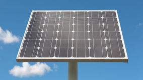 Solar Panel - Front View Royalty Free Stock Images