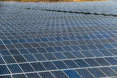 Solar panel generating electricity clean energy royalty free stock photography
