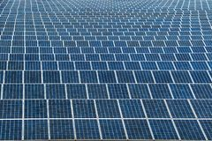 Solar panel generating electricity clean energy royalty free stock photos