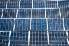 Solar panel generating electricity clean energy. Eco power, Photovoltaic, Alternative electricity source, Solar panel generating electricity clean energy royalty free stock photos