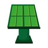 solar panel green energy icon Stock Image
