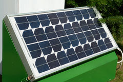 Solar panel for green, environmentally friendly energy Royalty Free Stock Images