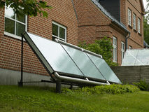 Solar panel for green, environmentally friendly energy Stock Images