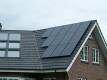 Solar panel for green, environmentally friendly energy Royalty Free Stock Image