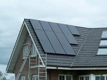 Solar panel for green, environmentally friendly energy Royalty Free Stock Photography