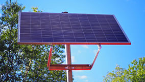 Solar panel for houses Stock Photography
