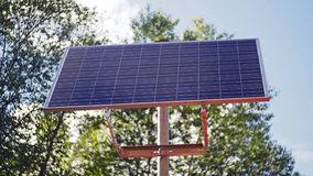 Solar panel for houses Royalty Free Stock Photos