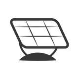 Solar panel icon. Save energy design. Vector graphic Royalty Free Stock Photos