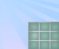 Solar Panel Illustration Stock Images