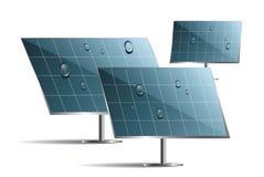 Solar panels Royalty Free Stock Photos