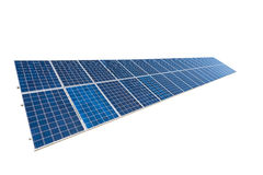 Solar panel isolated Stock Images