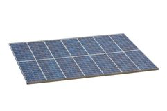 Solar panel , isolted , white background Stock Photo