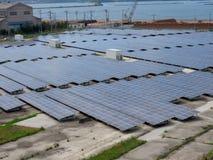 Solar Panel in Japan royalty free stock image