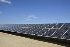 Solar panel. Royalty Free Stock Photography