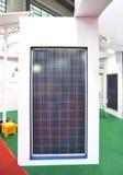 Solar panel model to run street light Stock Image