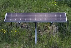 Solar panel Royalty Free Stock Photo