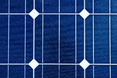 Solar panel. Photovoltaic, renewable savings Royalty Free Stock Images