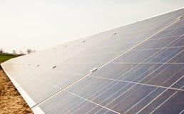 Solar Panel Plant Royalty Free Stock Image
