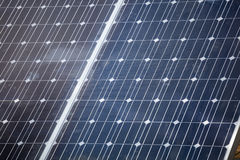 Solar Panel for renewable clean energy Royalty Free Stock Image