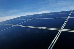 Solar Panel Renewable Energy Field Royalty Free Stock Photo
