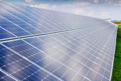 Solar panel and renewable energy Royalty Free Stock Photography