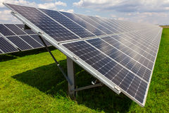 Solar panel and renewable energy Royalty Free Stock Photo
