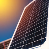 Solar panel for renewable energy Stock Photos