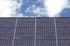Solar panel roof. On house Royalty Free Stock Photography