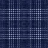 Solar panel seamless pattern. Dark blue background. Stock Photography