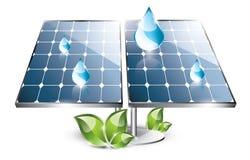 Solar Panel Set Royalty Free Stock Photos