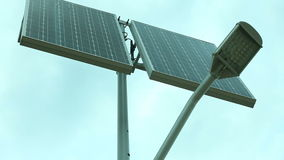 Solar panel - Stock Footage Full HD with motorized slider. 1080p. stock video