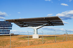 Solar Panel Structure Stock Photo