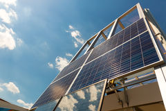 Solar panel, sun battery, alternative energy Stock Photo