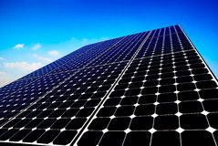 Solar panel sun energy Royalty Free Stock Photos