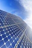 Solar Panel, Sun Flare Stock Image