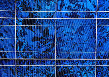 Solar panel surface Stock Images