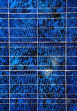 Solar panel surface close up Royalty Free Stock Photos