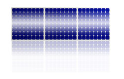 Solar Panel system Royalty Free Stock Image