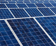 Solar panel texture Royalty Free Stock Images