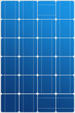 Solar panel texture Royalty Free Stock Image